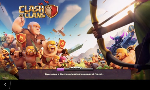 Clash of Clans on BlackBerry