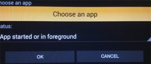 Choose an app