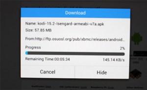 Downloading APK