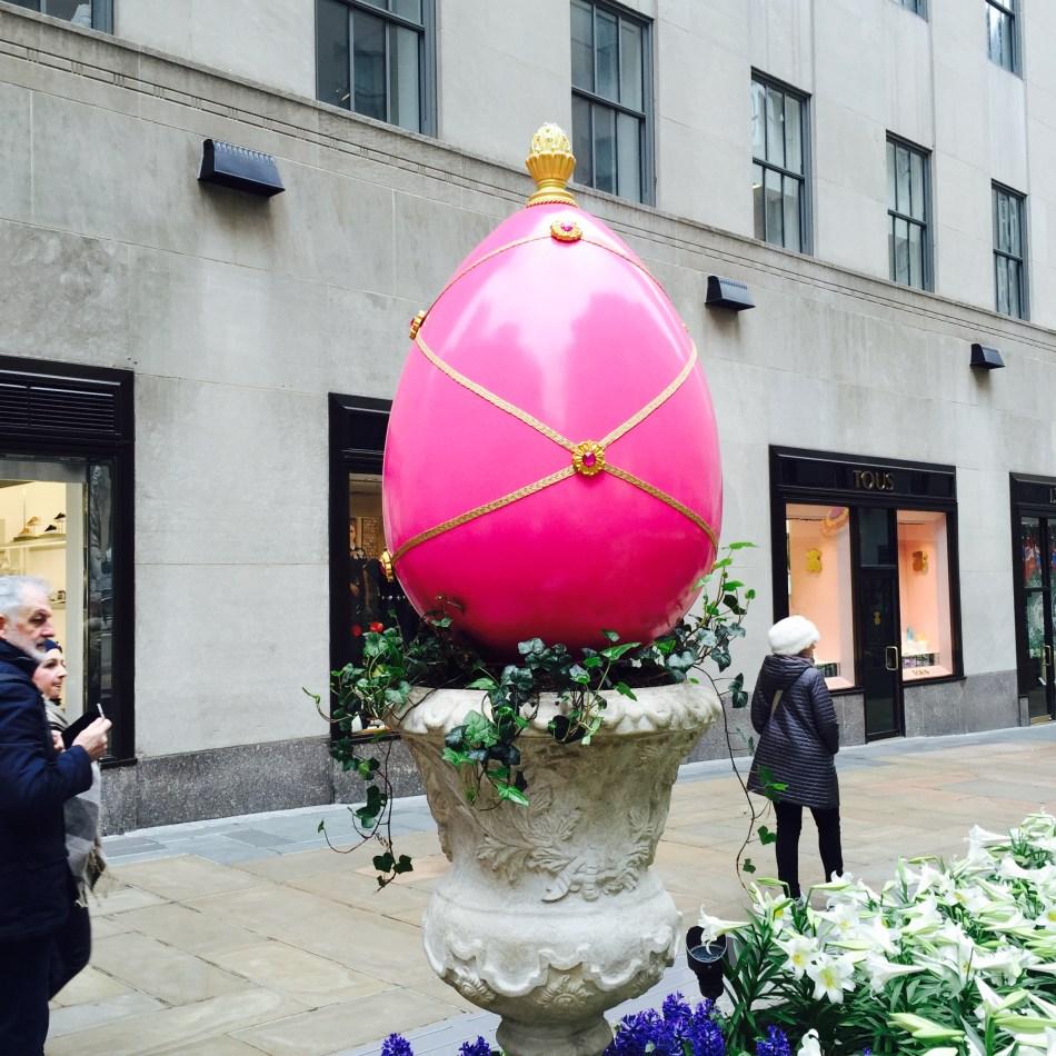 Pink Fabergé Easter Egg