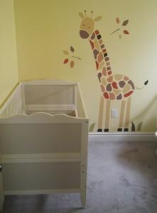 Giraffe vinyl