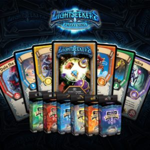 Lightseekers Awakening Trading Card Game, Tomy