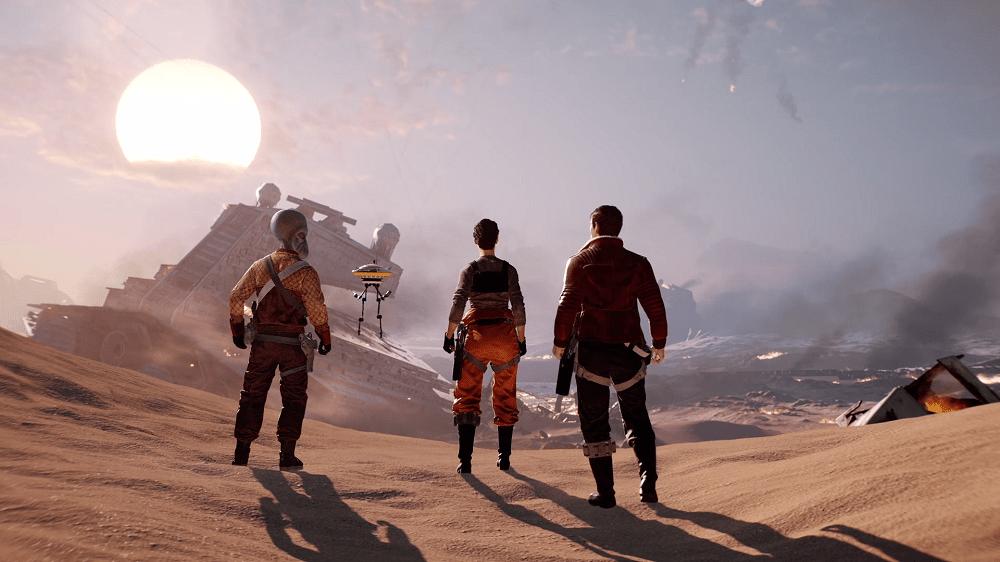 Star Wars: Battlefront II (Electronic Arts, Bioware, 2017)