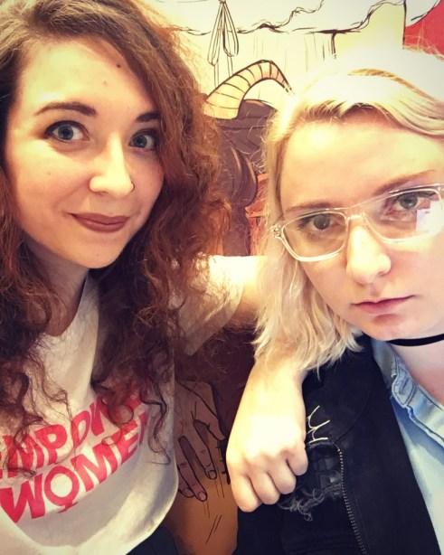 Becca Farrow and Anne Camlin