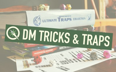 DM Tricks and Traps: Fighting Fire With Skinwalkers