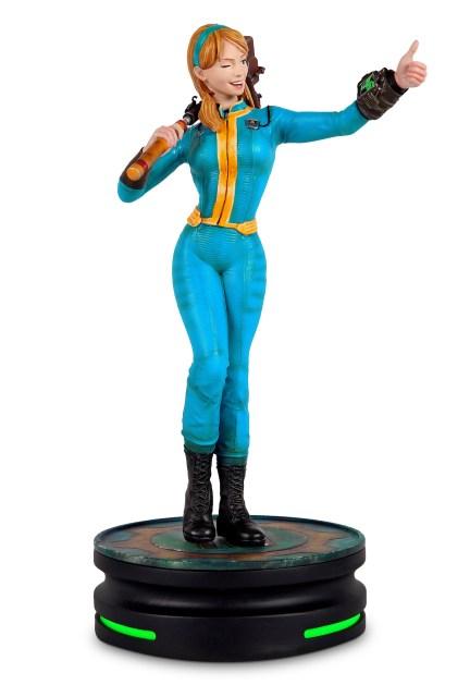 A Vault Girl statue from Fallout. Image from THINKGEEK.com https://www.thinkgeek.com/product/ktgg/