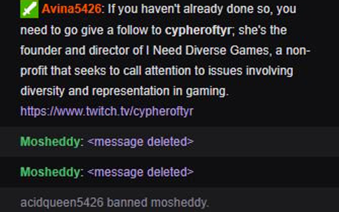 Twitch Partner Tanya DePass Harassed, With No Response from Twitch