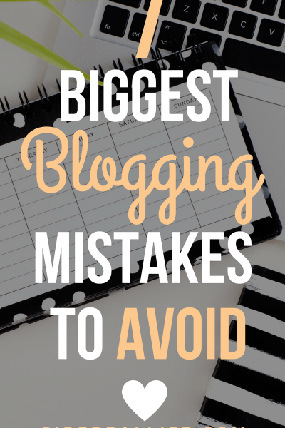 Blogging Mistakes To Avoid