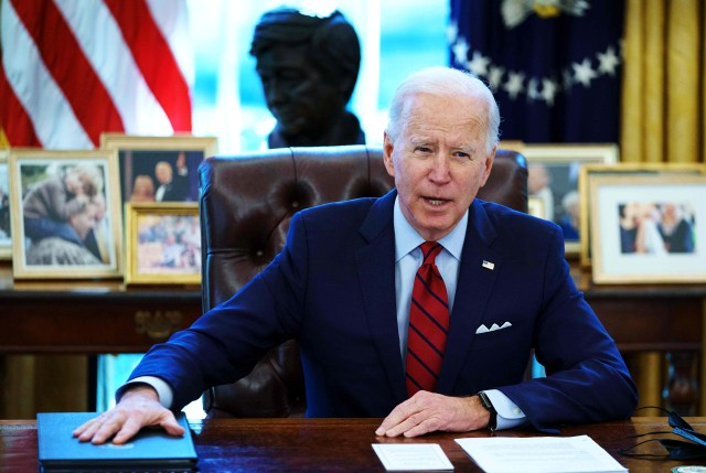 President Biden's First Month in Office
