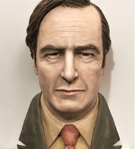 Saul Goodman of Better Call Saul/Breaking Bad