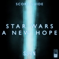 Star Wars A New Hope Artwork for our Film Soundtrack Podcast