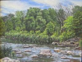 """William Scarlato, """"DuPage River, Warrenville Grove Forest Preserve"""""""