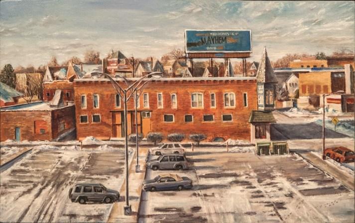 """William Scarlato, """"From the Artist's Studio, Aurora, Illinois"""""""