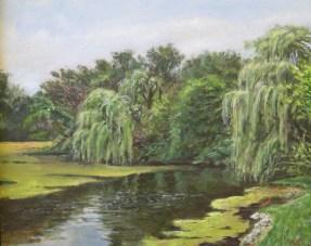 "William Scarlato, ""Lake Benedictine, Lisle, Illinois"""