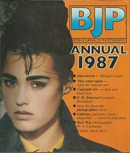 Book Cover: BJP Annual 1987