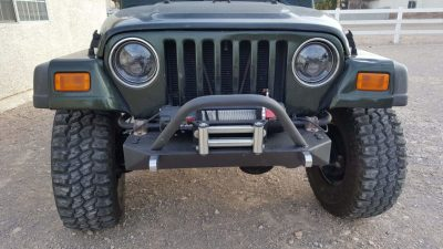 Front View Winch Bumper
