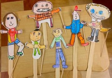 OCEAN puppet family