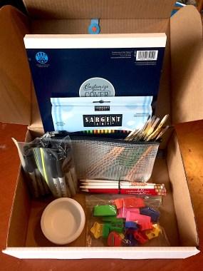 LW - gift box interior