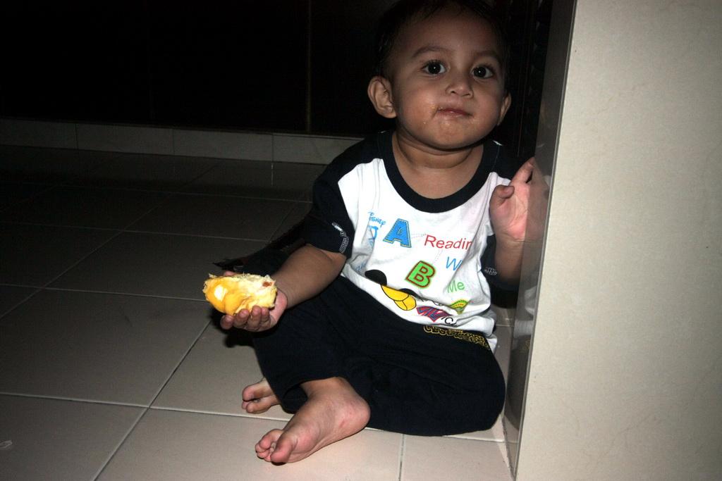 ulas durian dua kali ganda tangan muadz