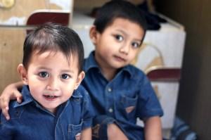 Haai saya Umar, ini adik saya Muadz
