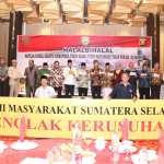 Dukung TNI-Polri , Masyarakat Sumsel Gelar Deklarasi Tolak Kerusuhan.