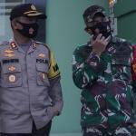 Sinergitas TNI-Polri, Kapolres Kukar Hadiri Diskusi Penerapan Pembatasan Sosial Gagasan Dandim 0906/Tgr