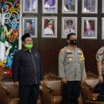 Kesiapan Pengamanan Pilkada 2020, Kapolres Kukar Hadiri Rapat Koordinasi Forkopimda