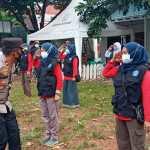 Kompol H Khoiri Kapolsek Kembangan Berikan Edukasi Ke Anggota Relawan Satgas Covid -19