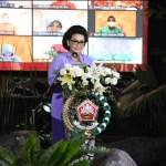 Panglima TNI :Dharma Pertiwi Telah Melewati Perjalanan Panjang Yang Sarat Dengan Pengabdian