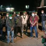 Polresta Tangerang Ajak Belasan Mahasiswa HMI ke Pemakaman Khusus Covid-19 dan ke RSUD Balaraja