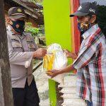 Bantuan Sosial Polres Kukar Di Kecamatan Tenggarong