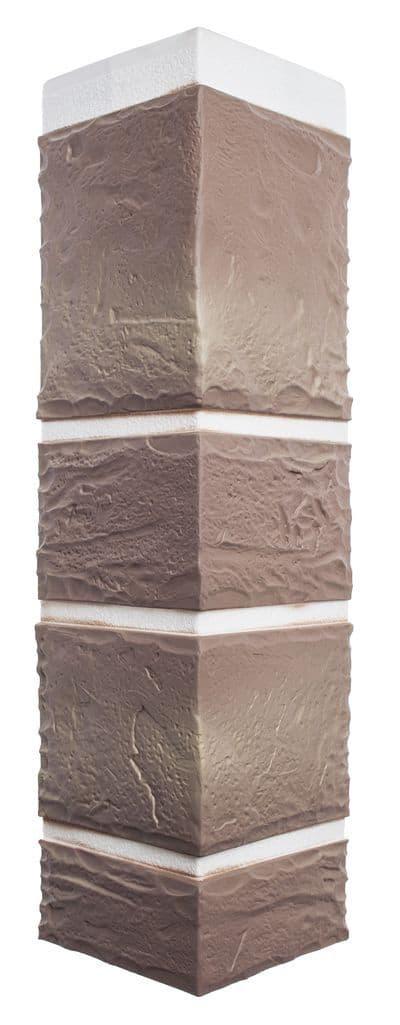Наружный угол камень Пражский 03 ☑️ размер 472x112x31мм