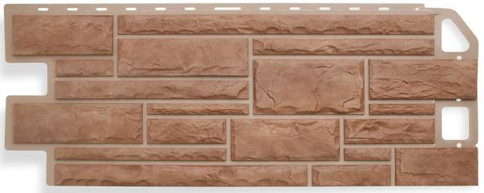 Панель камень Кварцит размер: 1135х474x23 мм