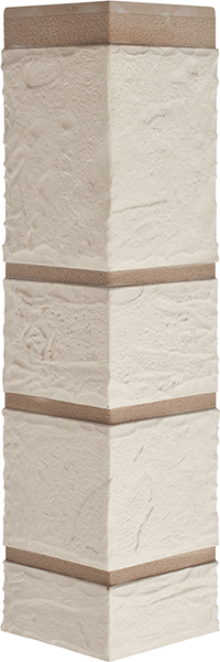 Угол камень белый 472 x 112 x 31 mm Альта Профиль
