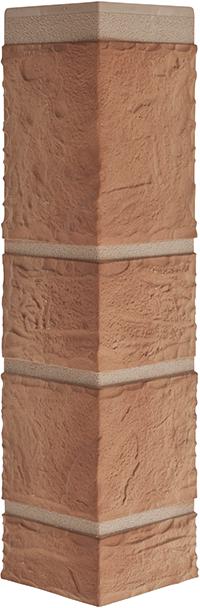 Угол камень бежевый 472 x 112 x 31 mm Альта Профиль