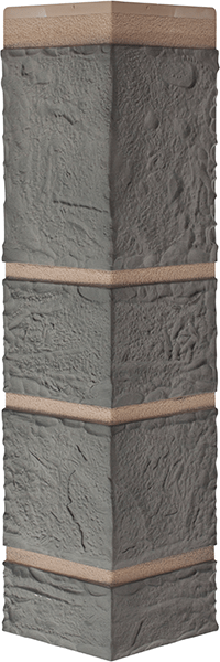 Угол камень серый 472 x 112 x 31 mm Альта Профиль