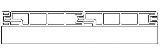 Террасная доска SW Padus чертеж схема