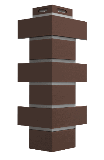 Угол FLEMISH Коричневый размер: 420x174x17 mm
