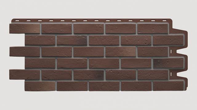 Фасадные панели Docke BERG Коричневый 1015x434x17 мм