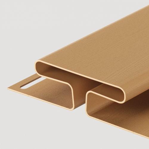 Docke H-профиль 13 мм Карамель