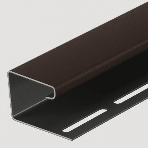 Docke j-профиль 16 мм Шоколад