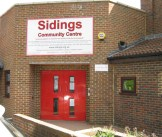 sidings entrance