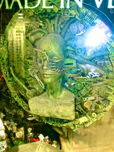 Borg Lady Green