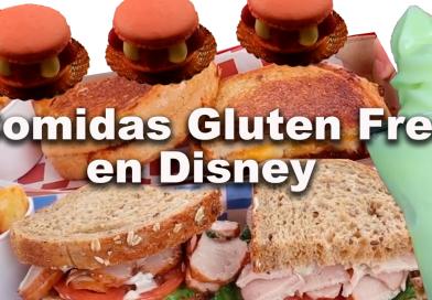 Opciones libres de gluten en los parques de Disney World