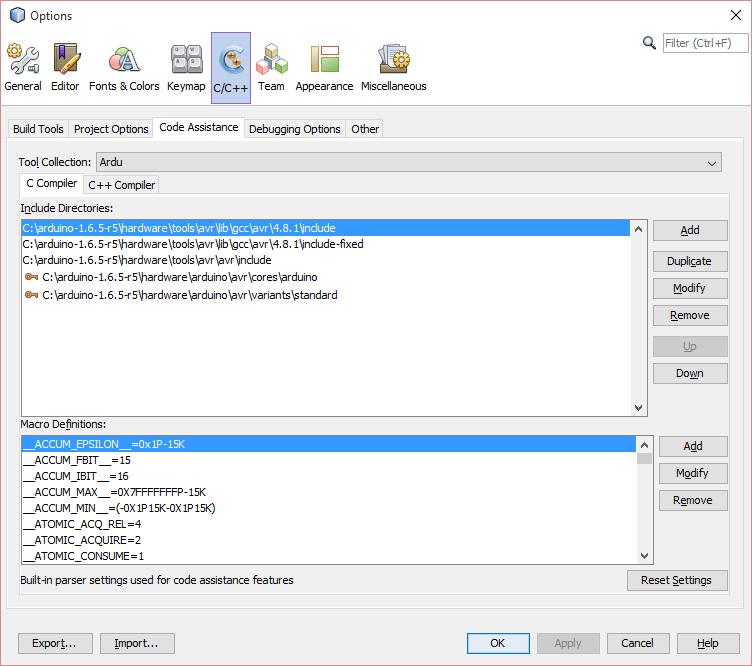 Using netbeans for arduino development on windows