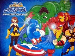 painel_os_vingadores_sidneiart_03