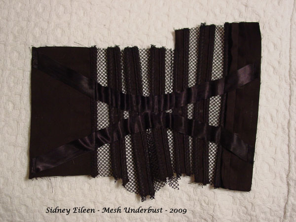How to Make a Sport Mesh Corset - 17, by Sidney Eileen
