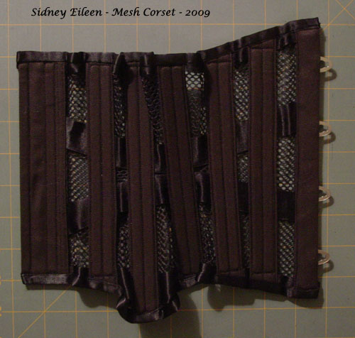 How to Make a Sport Mesh Corset - 35, by Sidney Eileen