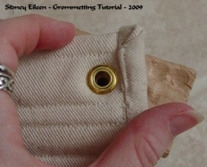 How to Grommet a Corset Thumbnail