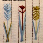 Wheat Chaff Design Variations - How to Floss a Corset, by Sidney Eileen